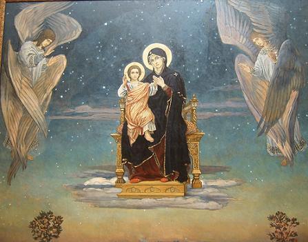 Viktor Mikhajlovitsj Vasnetsov (1848-1926): Guds mor (1901)